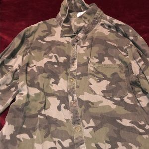 Camp long sleeve button down